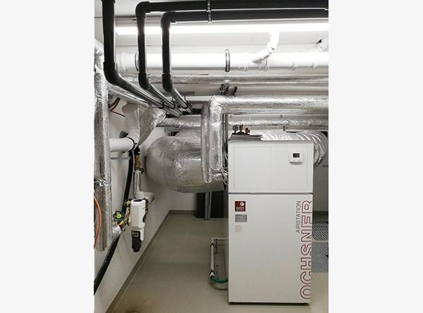 Luft-Wärme-Pumpe